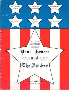60's & 70' music posters the raiders - Google Search