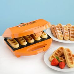 this is the coolest thing...waffle sticks!