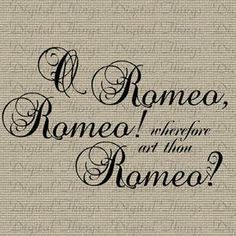Romeo and Juliet quotes explained. Sparknotes