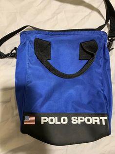 Vintage Polo Sport Ralph Lauren Shoulder Bag Satchel Man Purse  fashion   clothing  shoes ac467b57f1