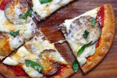 My Gluten-Free Eggplant Parm Pizza
