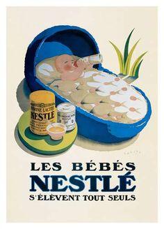 Vintage Nestlé ad