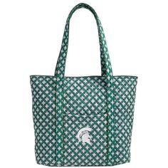 62d4f05aeb7f Michigan State Spartans Vera Bradley Women s Vera Tote Bag