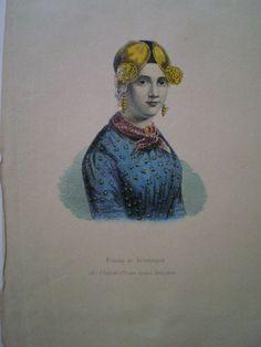 Scrapbook; Plakboek van A.C.W. Baronesse Nahuys met een chronologisch overzicht van mode en klederdracht - ca. 1900 #Groningen