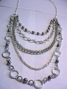 How to Make a Fashion Necklace Using Chain | My Girlish Whims