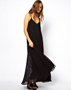 ASOS Maxi Cami Burnout Dress.