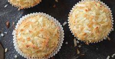 Muffins croustillants aux bananes et à la noix de coco Biscuits, Brownies, Sandwiches, Deserts, Brunch, Pie, Cookies, Baking, Breakfast