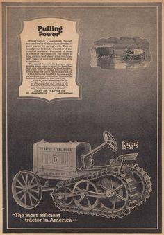 Bates Tractor 1919