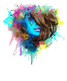 Timmy katoppo #portrait #art #color #stunning