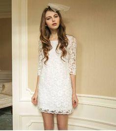 Vestido Blanco Encaje Romantico Verano Moda Japonesa Vintage - $ 520.00