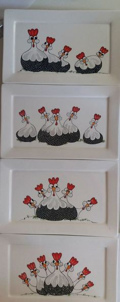 20170326_091754 China Painting, Tole Painting, Ceramic Painting, Fabric Painting, Diy Painting, Chicken Painting, Chicken Art, Painted Plates, Hand Painted
