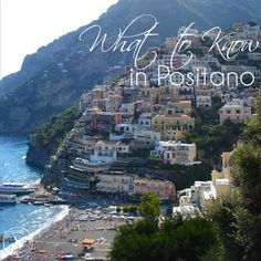 Heading to Positano on Italy's Amalfi Coast? Read my travel guide for tips on the best hotels, restaurants, nightlife, beaches, activities and things to do. Good guide.