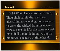 WARN THE WICKED! #God #JesusSaves ##Christ  #Truth #JesusSaves #JesusCares  #TeamJesus  #RenewUS  #CCOT #PJNET