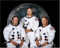 Neil Armstrong, Buzz Aldrin and Michael Collins were a part of the Apollo 11 crew. Apollo 11 spaceflight was the first to land humans on the Moon. Michael Collins, Neil Armstrong, Apollo 11 Crew, Apollo Space Program, Nasa Photos, Moon Photos, Apollo Missions, Buzz Aldrin, Paris Match