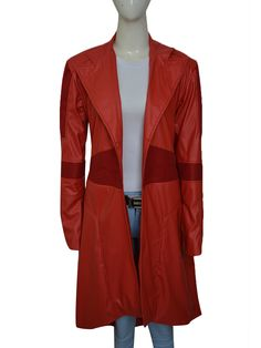 SCARLET WITCH CAPTAIN AMERICA COSPLAY COAT Captain America Cosplay, Captain America Civil War, Coats For Women, Jackets For Women, Women's Jackets, Scarlet Witch, Most Beautiful Women, Shirt Style, How To Wear