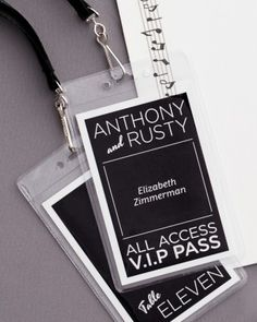 Turn Escort Cards Into VIP Passes