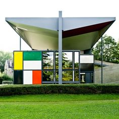 Centre Le Corbusier (Heidi Weber Museum) Designed in 1965 Completed in 1967 Zurichorn, Switzerland