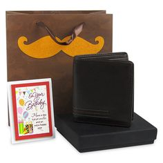 Birthday Hamper For Him Gift your dear one this fun birthday hamper containing a mens wallet, a birthday quotation and a paper gift bag. Rs. 869 : Shop Now : https://hallmarkcards.co.in/collections/shop-all/products/birthday-hamper-for-mens