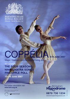 Coppélia, Birmingham Hippodrome, 2006 by Birmingham Royal Ballet, via Flickr