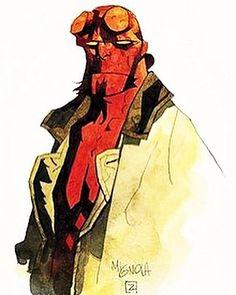 E eis que ontem à noite, sem aviso nem nada, Mike Mignola (@artofmm ) anuncia que teremos um novo filme de Hellboy chegando aos cinemas. • Soube pelo @geekcomgelo e depois fui pesquisar um pouco mais a fundo. • Quem deu a notícia foi o próprio Mignola, no Facebook. Será um filme para maiores de 18 anos, dirigido por Neil Marshall (Abismo do Medo) e com David Harbour, o xerife cheio de zicas e dicas de Stranger Things, no papel do bom capiroto. • E você que achava que Guillermo Del Toro e Ron…