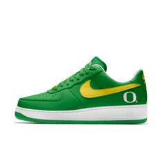 Nike Air Force 1 Low College iD Men's Shoe-Oregon Ducks