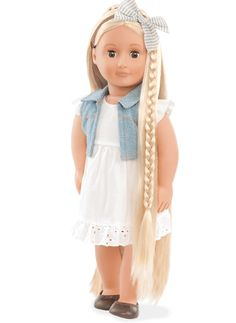 Phoebe | Our Generation Dolls.  Rose wants one with long hair and a long braid