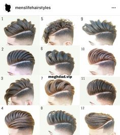 icu ~ Pin on HAIR MEN STYLE ~ Oct Choose your favourite hairstyles your friends✂? Mens Hairstyles Fade, Cool Hairstyles For Men, Modern Hairstyles, Hairstyles Haircuts, Haircuts For Men, Latest Hairstyles, Hair And Beard Styles, Curly Hair Styles, Prp Hair