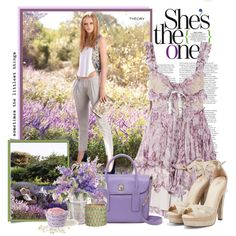 Lavender fields, created by lollypop1 on Polyvore  Welker Photography loves taking pictures of seniors in well coordinated but interesting outfits.  This would would certainly be fun!  Would love to try it out!