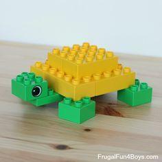 LEGO Duplo schildpad om te maken