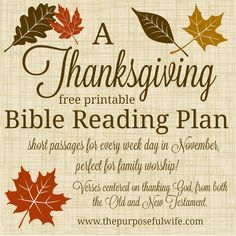 Scriptures centered on praise and Thanksgiving, especially suited to little ones!