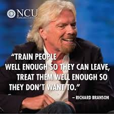 sir richard branson leadership style