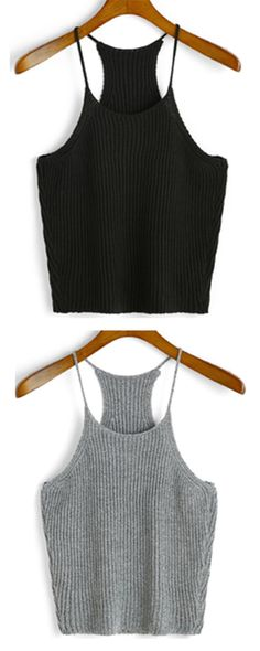 You really really need this ! Summer must have piece for women ! Just get away tight tops ,you just need this knit cami top,super cool!