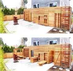 vertical patio
