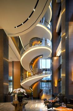Conrad Seoul Hotel at International Finance Center, Seoul, South Korea by Arquitectonica