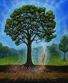 Look deep into nature, and then you will understand everything better. -Albert Einstein  #TapIntoYourTrueNature #GetGrounded #BarefootTechnology www.earthrunners.com  Painting by Alex Grey