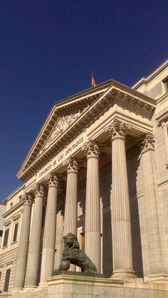 Cortes Españolas. Madrid. Spain