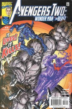 Avengers Two Wonder Man and the Beast (2000) 3
