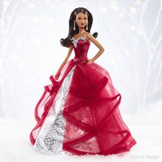 Express yourself in fun and glamorous ways! Get your 2015 Holiday Barbie Doll now on http://TheBarbieCollection.com .