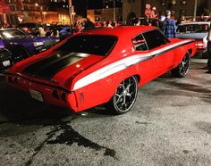 chevelle red grey and black yenko stripe Ls Swap, Old School Cars, Red And Grey, Black, Vroom Vroom, Fast Cars, Muscle Cars, Touring, Heaven