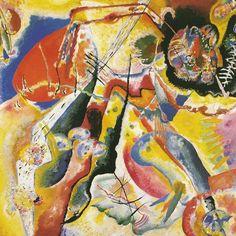 Quadro con macchia rossa - 1914 - Kandinsky Vassili - Opere d'Arte su Tela - Listino prodotti - Digitalpix - Canvas - Art - Artist - Painting