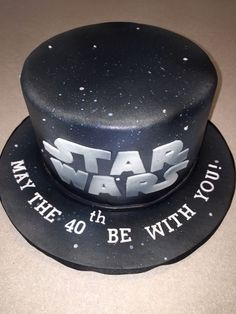May the 40th be with you. Star Wars | Cakes | Pinterest | Star ...