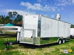 New Listing: https://www.usedvending.com/i/2015-8.5-x-20-Food-Concession-Trailer-for-Sale-in-Florida-/FL-P-763X 2015- 8.5' x 20' Food Concession Trailer for Sale in Florida!!!