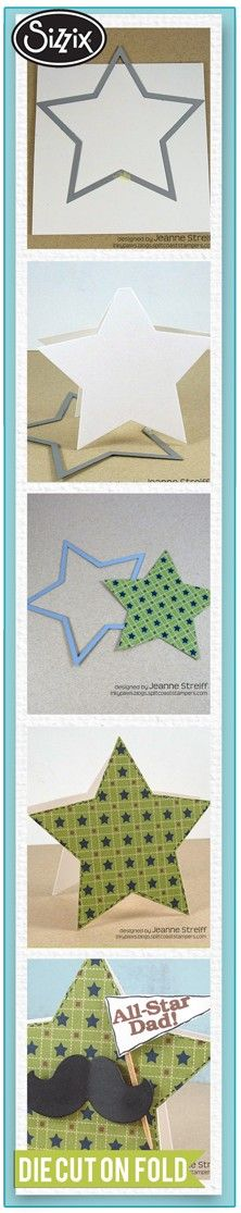 Sizzix Die Cutting Tutorial: Die Cut On A Fold by Jeanne Streiff.