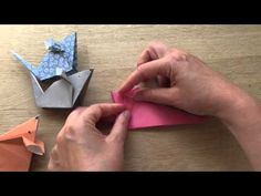 Origami Mice - a Cute Paper Mouse Craft - Red Ted Art's Blog
