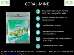 Coral Calcium Powder Minerals - Mine Coral Club Colo Vada Distribution in 4 Steps To Health Body Cleanse, Body Detox, Surface Tension, Heart Function, Natural Structures, Healthy Food, Healthy Recipes, Clean Diet, Health Articles