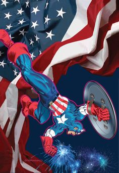 "Marvel is celebrating Captain America's 75th Anniversary with one of the creators who boldly mastered the patriotic majesty of Captain America, Jim Steranko. ""Five decades ago, Steranko threw pop art, surrealism and graphic design into a blender, and forever changed the way we tell comic book stories,"" says Marvel EiC, Axel Alonso. ""He was way …"