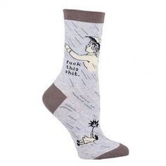 Fuck This Shit Socks http://weknowawesome.com/2014/08/05/awesome-quirky-funny-socks/