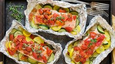 8 Oven Baked Foil Packet Dinners You'll Want on Repeat