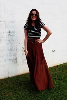 maxi skirt inspiration.