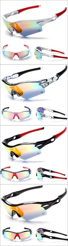 Radarlock Outdoor Sports Cycling Bicycle Bike Sunglasses MTB 5 Lens Polarized